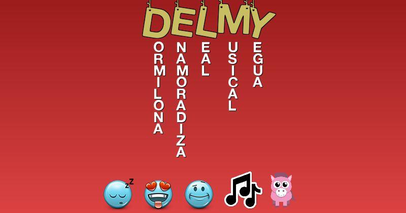Emoticones para delmy - Emoticones para tu nombre