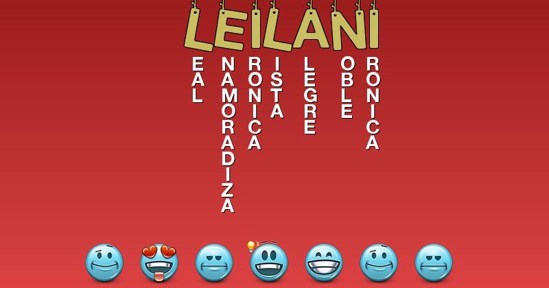 Significado leilani Nombres para