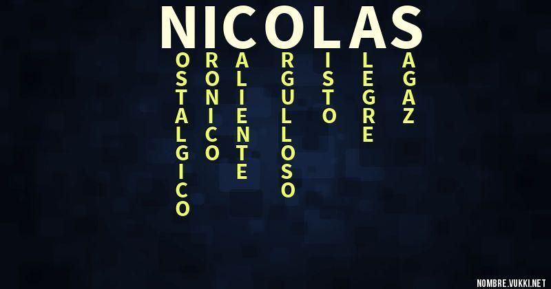 Acróstico nicolas