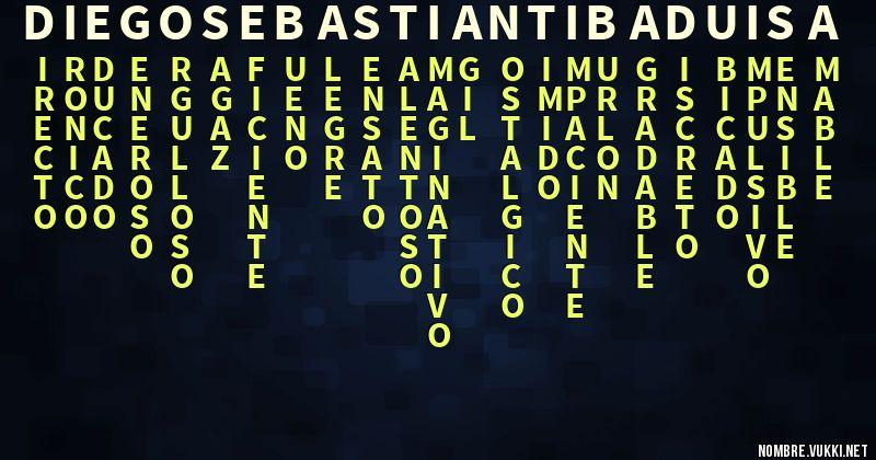 最も好ましい Acrostico Con Sebastian ただのゲームの写真