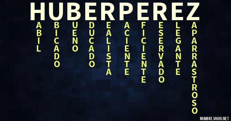 Nombre Huber