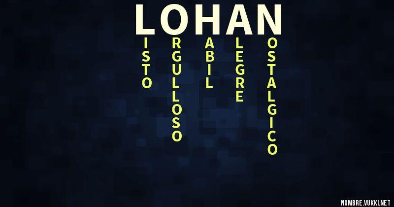 Qué Significa Lohan