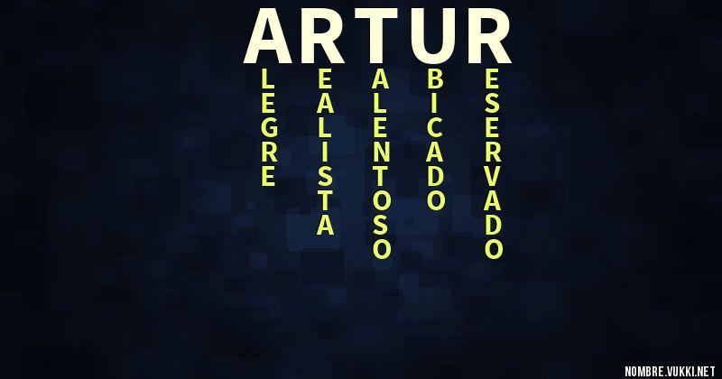 Acróstico artur