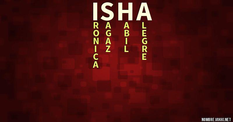 Qué significa isha