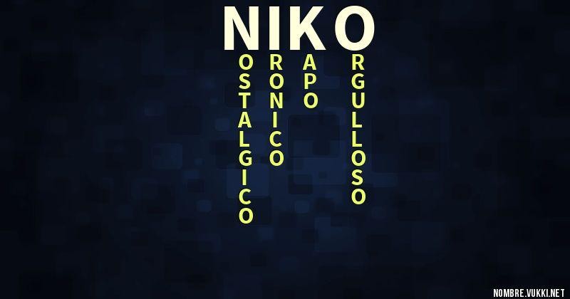 nuevas variedades envio GRATIS a todo el mundo buscar Qué significa niko